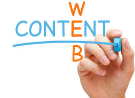 Online website content writing service